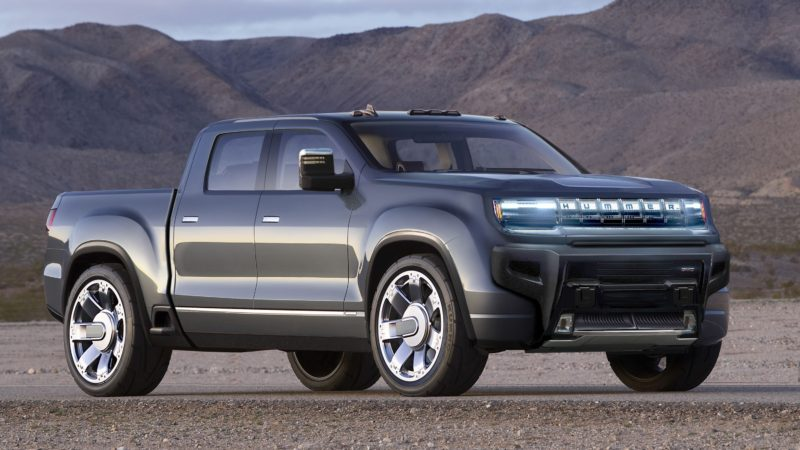 Hummer revine in 2022 – motor electric de 1000 cai putere